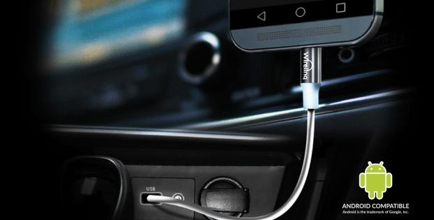 Как подключить телефон в машине через USB?