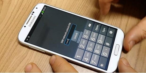 Как убрать PIN-код с телефона Samsung?