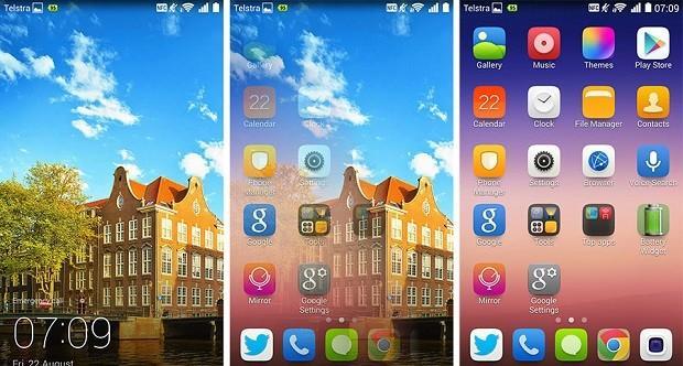 174 1 huawei screenshot - Как настроить и изменить меню Пуск в Windows 10?