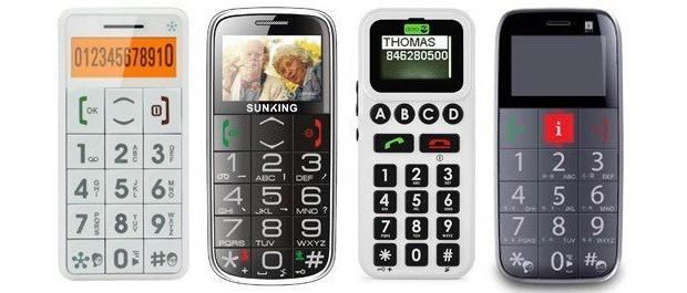186 phones with buttons - Кнопочные телефоны для пожилых людей