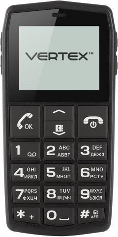 187 Vertex C301 - Телефон с большими кнопками для пожилых людей