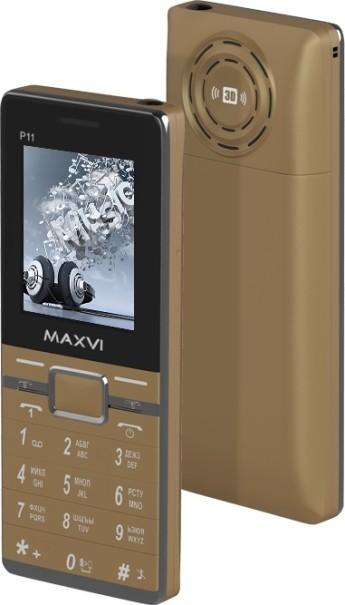 188 MAXVI P 11 - Телефоны для пожилых людей 2017 года