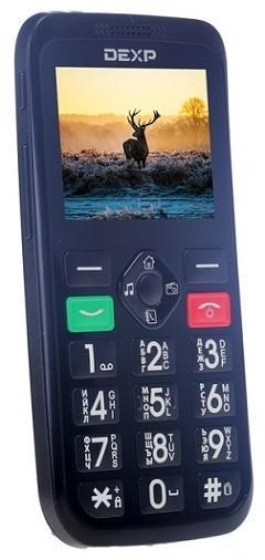 190 DEXP Larus S2 - Большие сотовые телефоны для пожилых людей