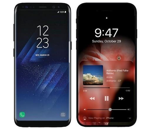 207 Iphone 8 vs Samsung Galaxy S8 2 - Сравнение Iphone 8 и Samsung Galaxy S8