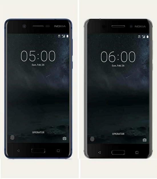 210 Nokia 5 vs Nokia 6 2 - Фотографии стартового экрана Windows 10 для смартфонов
