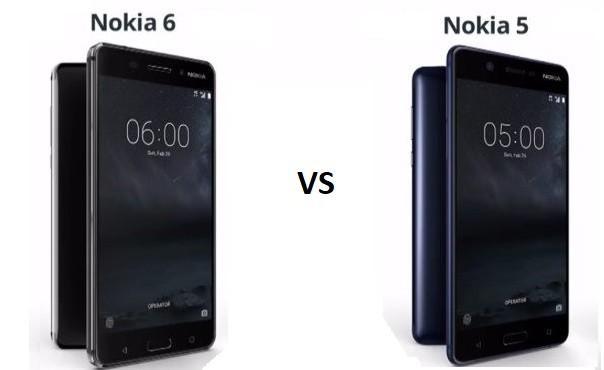 210 Nokia 5 vs Nokia 6 - Сравнение смартфонов Nokia 5 и Nokia 6