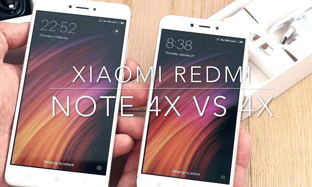 233 xiaomi vs 2 - В чем отличие Xiaomi Redmi Note 4x и 4x?