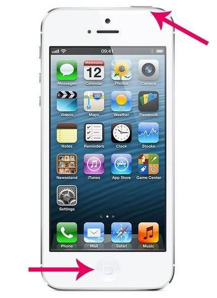 287 screen iphone 5s - Как сделать скриншот экрана на iPhone SE и 5S?