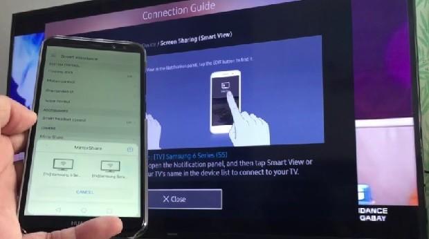 Как хуавей подключить к телевизору. Как подключить Huawei P Smart к телевизору