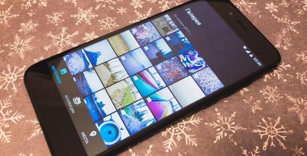 галерея фотографий на Xiaomi