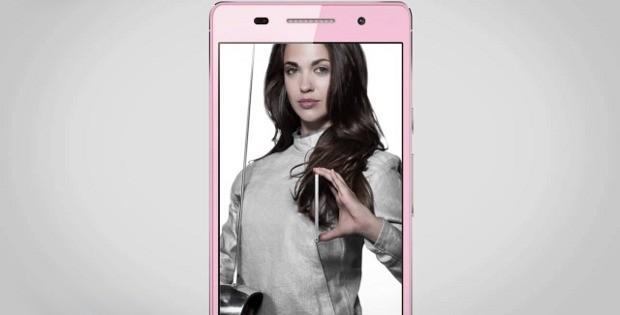 рекламный ролик на смартфоне