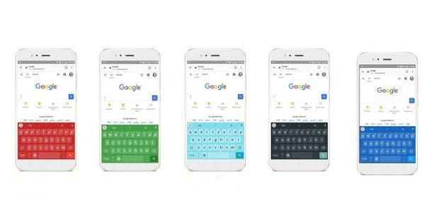 Xiaomi с разными клавиатурами