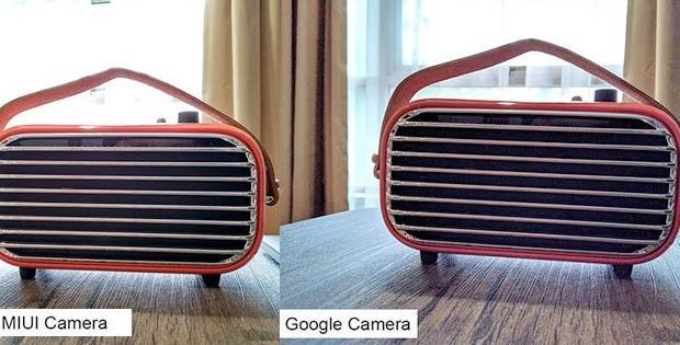 сравнение фото Google Camera и камеры Xiaomi