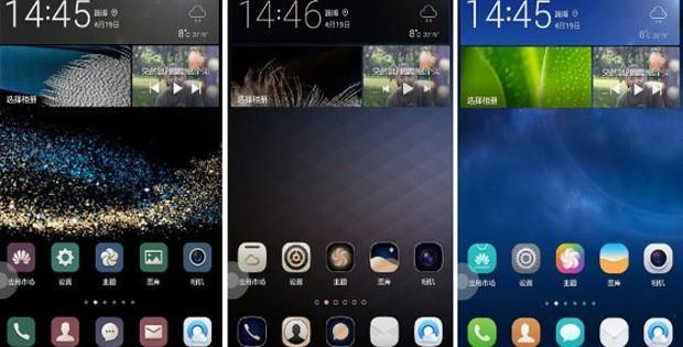 темы Huawei
