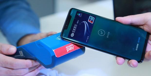 приложение Huawei Pay на телефоне Huawei