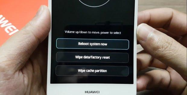 сброс настроек Huawei