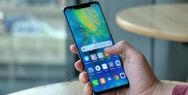 Huawei в руке