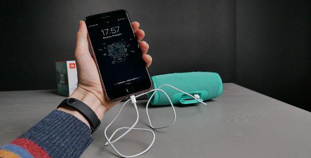 зарядка JBL Charge от телефона