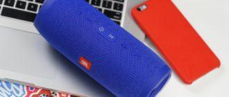 колонка JBL и iPhone