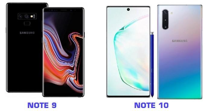Note9 10 1 - Что купить:  Samsung Galaxy Note 9 или Note 10?